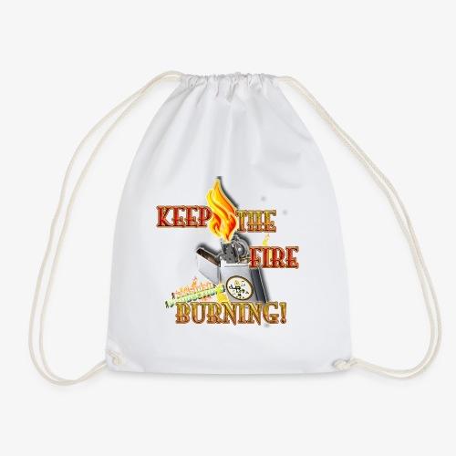 Keep the fire burning (Kansidah) - Turnbeutel