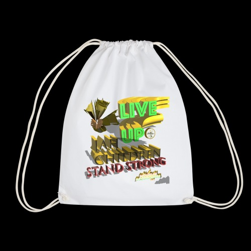 live up JAH children (Kansidah 3D) - Turnbeutel