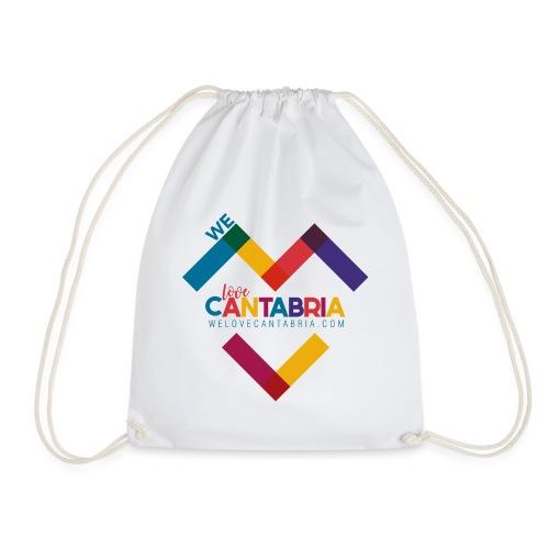 Welovecantabria logo - Mochila saco