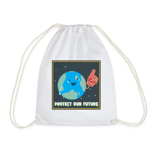 Protect Our Future - Drawstring Bag