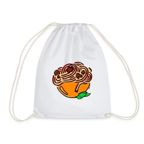 Schüssel Spaghetti - Turnbeutel