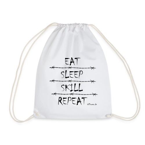 Eat Sleep Skill Repeat - Turnbeutel