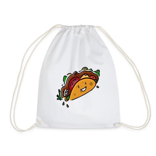 Glücklicher Taco - Turnbeutel