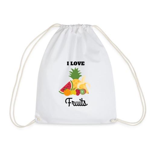 I Love Fruits - Sac de sport léger