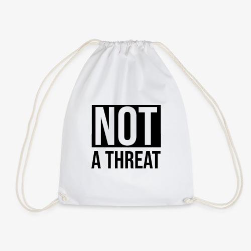Black Lives Matter - Not a Threat - Drawstring Bag