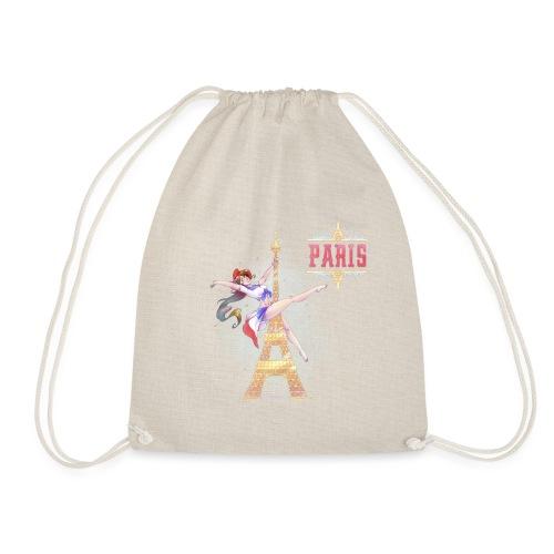 Pole Dance Paris Marianne - Drawstring Bag