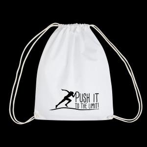 Push it to the limit woman - Turnbeutel