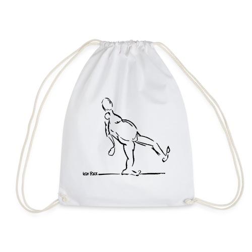 Lean Back Doodle - Drawstring Bag
