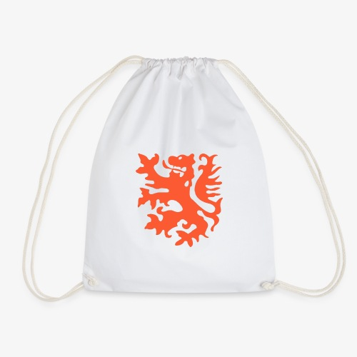 Orange lion Replica Holland 1974 - Drawstring Bag