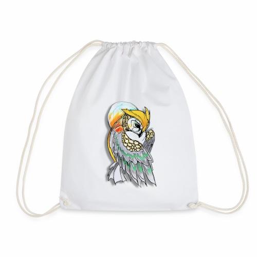 Cosmic owl - Mochila saco