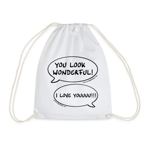 You look wonderful! - Turnbeutel