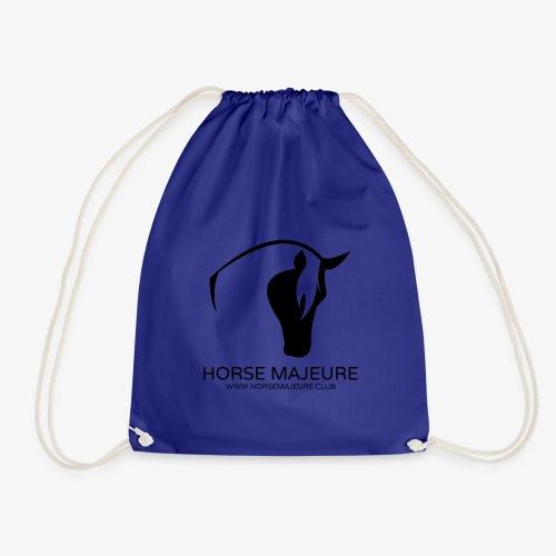Horse Majeure Logo / Musta - Jumppakassi