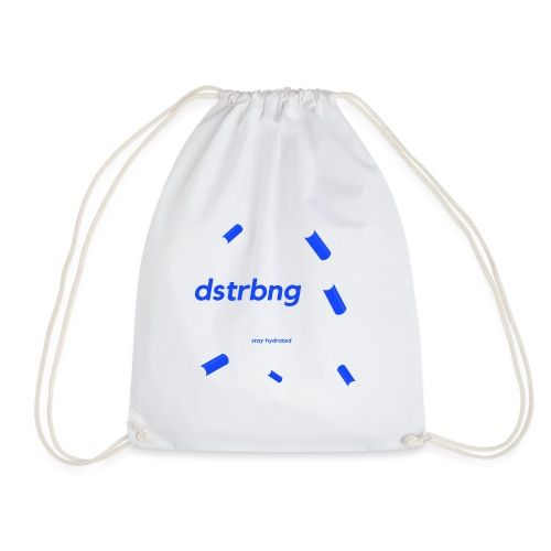 stay hydrated - Drawstring Bag