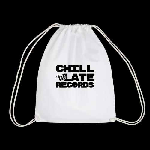 Chill Til Late Records - Drawstring Bag