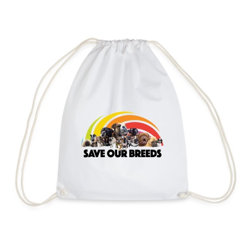 Love Not Hate - Drawstring Bag