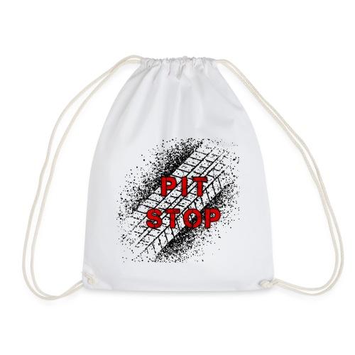 Logo Pit Stop - Mochila saco