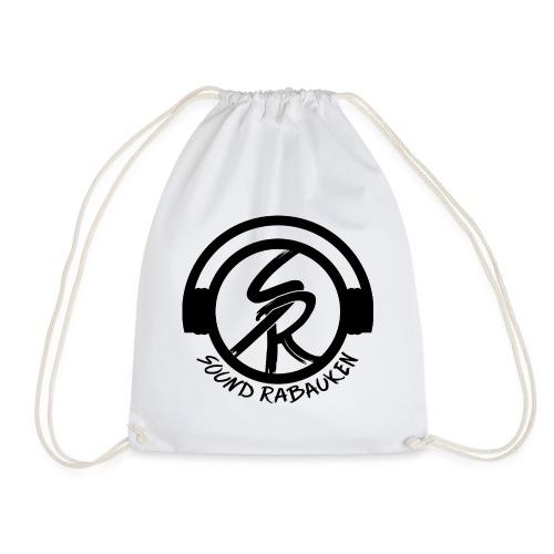 Sound Rabauken Logo schwarz - Turnbeutel