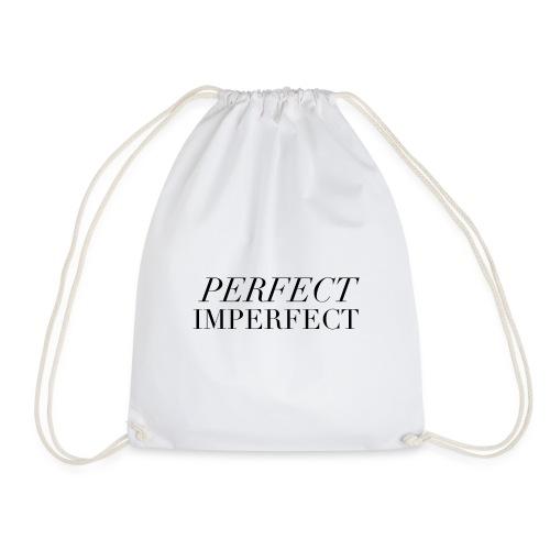 Perfect. Imperfect. - Drawstring Bag