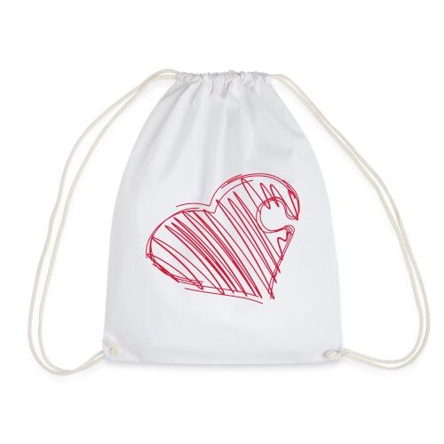 Hjertepuslebit I - Gymbag