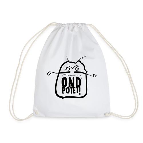 Original ondpotet logo variert - Gymbag