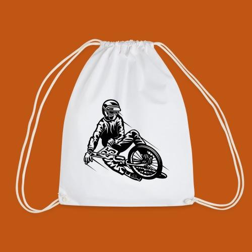 BMX / Mountain Biker 03_schwarz - Turnbeutel
