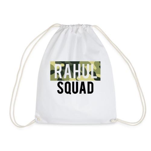 RahulSquad Official Camo T-Shirt - Drawstring Bag