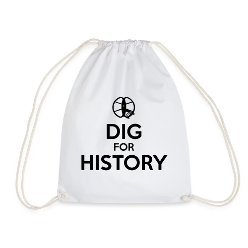 Dig for History 1 - by detonateur - Black - Sac de sport léger