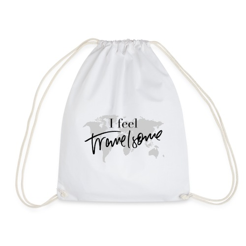 I feel Travelsome - Turnbeutel