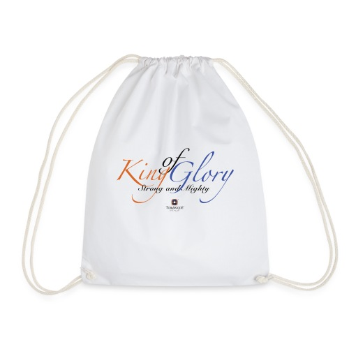 King of Glory by TobiAkiode™ - Drawstring Bag