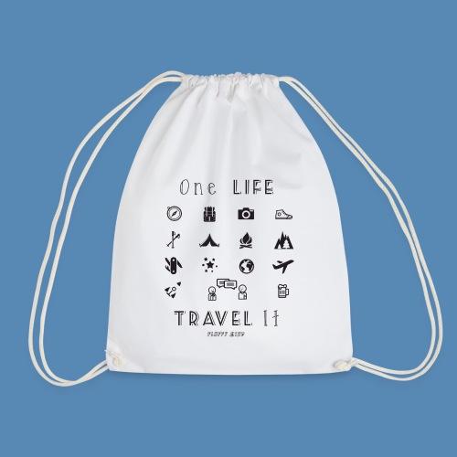 One Life, Travel It - Sac de sport léger