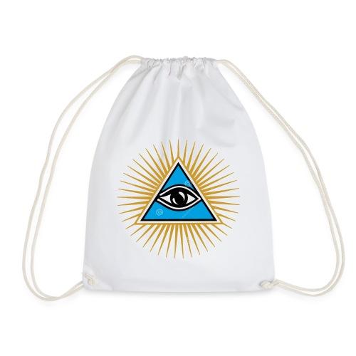 illuminati eye - Mochila saco