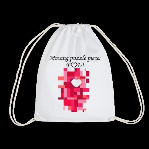 Missing puzzle piece: You - Turnbeutel