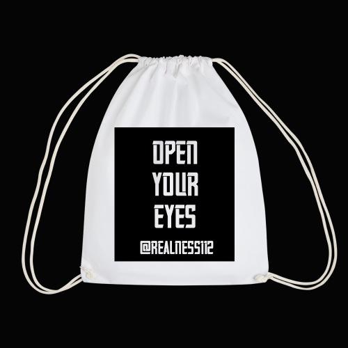 Open Your Eyes!!! Truth T-Shirts!!! #OpenYourEyes - Drawstring Bag