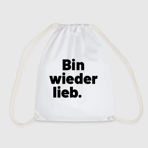WIeder lieb - Turnbeutel