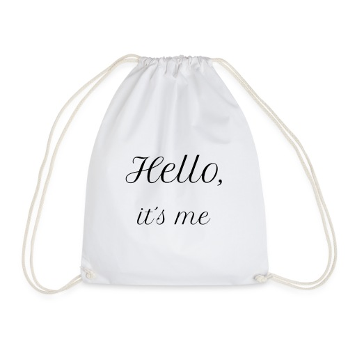 Hello Its me Sweater (Dames) - Gymtas