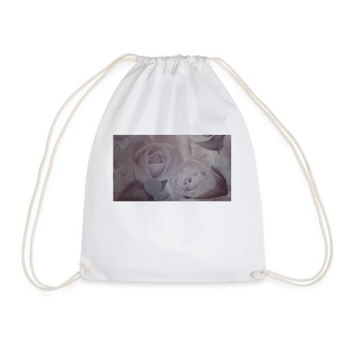 perfect pink rose's - Drawstring Bag