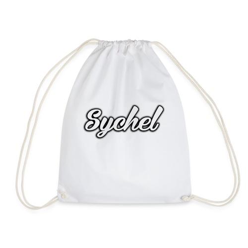Sychel Handwriting Logo - Drawstring Bag
