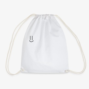 Simple Smiley face - Drawstring Bag