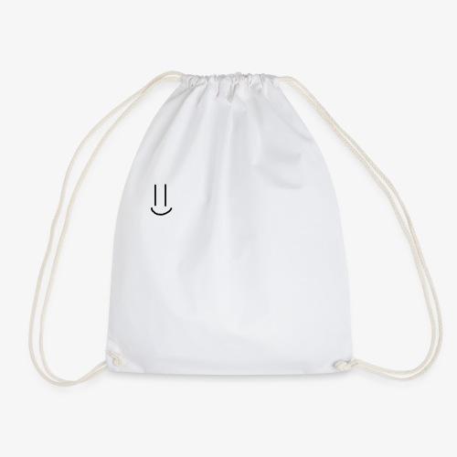 Simple Smiley face - Drawstring Bag