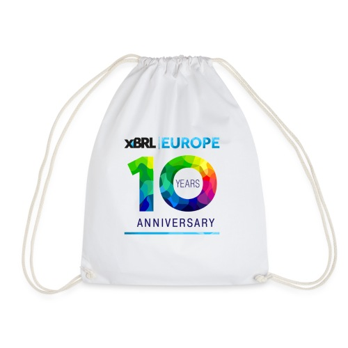10th anniversary of XBRL Europe - Drawstring Bag
