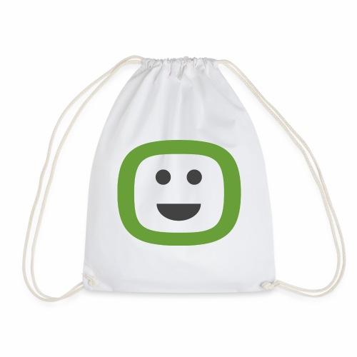 ZAIDOO - Den Tag mit einem Lächeln beginnen :) - Turnbeutel