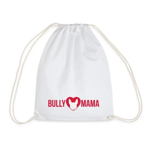 Bullymama - Französische Bulldogge Silhouette - Turnbeutel