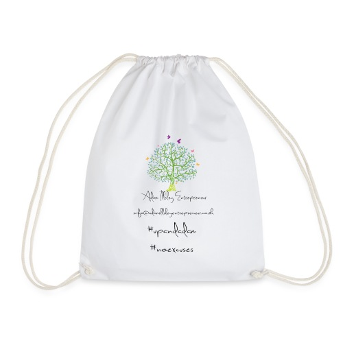 Adam Illsley Entrepreneur Main Logo - Drawstring Bag