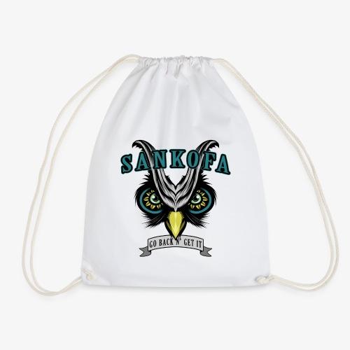 Sankofa Wisdom - Drawstring Bag