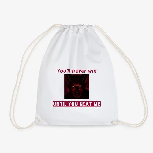 The unbeaten devil - Drawstring Bag