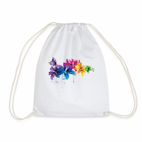 Flowers Vectors PNG - Mochila saco