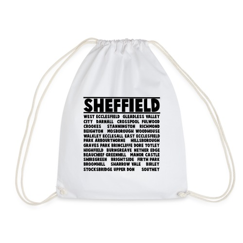 Sheffield City - Drawstring Bag