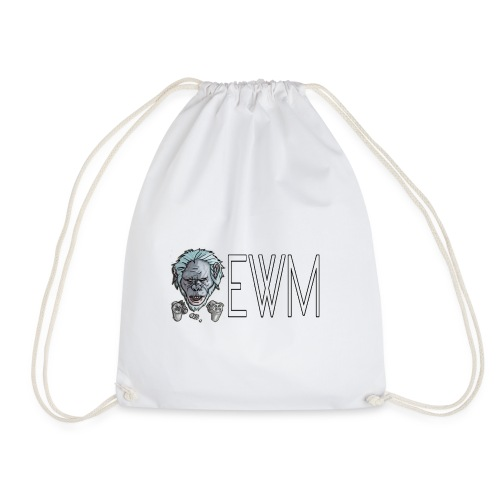 ElWhiteMonkey - Drawstring Bag