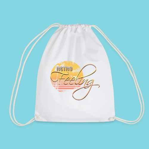 Retro Feeling Sunset - Drawstring Bag