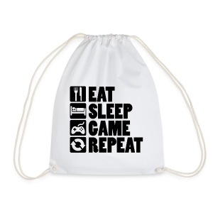Eat Sleep Game Repeat - Sportstaske